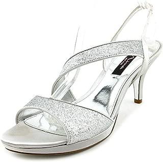 Womens Newark Glitter Strappy Dress Sandals
