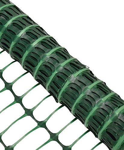 Woodside – Kunststoff-Hühnerzaun – Maschengewebe – Grün – 1 x 25 m (H x L) - 2