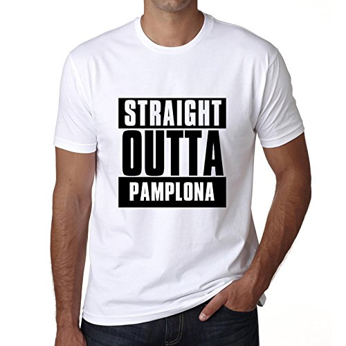 One in the City Straight Outta Pamplona, Camisetas para Hombre, Camisetas, Straight Outta Camiseta