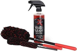 Liquid X Classic Wheel Cleaner Combo - Wheel Cleaner & Wheel Woolies Brushes