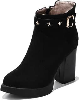 BalaMasa Womens ABS14184 Pu Boots