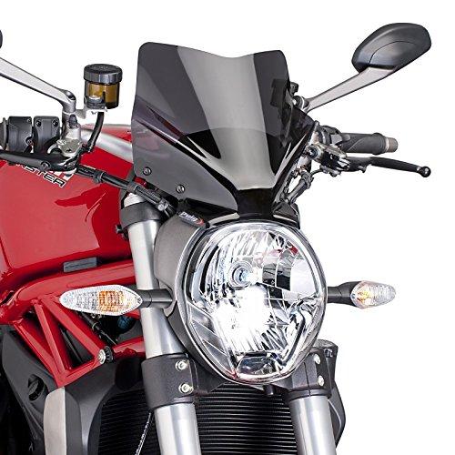 Windschild für Ducati Monster 1200/ S 14-19 dunkel getönt Puig 7013f