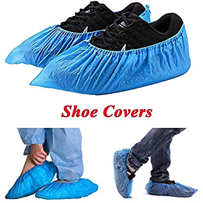 Shoe Covers Disposable -100 Pack?50 Pairs? Disp...