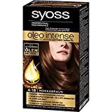 Syoss Oleo Intense Permanent Intensive Oil Color (4-18 Mokka Brown) by Syoss