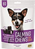 SENTRY Calming Chews for Dogs, 60 Count