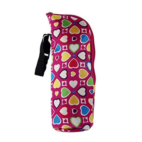 QHGstore Alimentazione del bambino termica scalda biberon Tote Bag Hang passeggino No.1