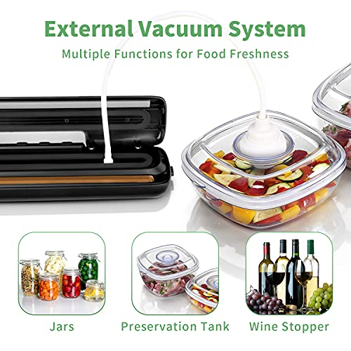 Vacuum-Sealer-AXUAN-Food-Sealer-One-Touch-Sealing-Fresh-Preservation-for-Dry-Moist-Food-with-15Pcs-Heat-seal-Bags-1Pcs-Air-suction-hose