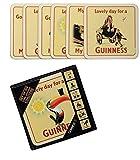 Guinness Corcho 6 Paq. Posavasos
