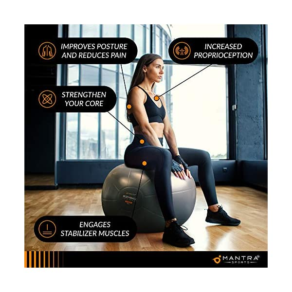 Gymnastikball Pilates Ball Sitzball Buero 75cm Geburtsball Fuer Schwangerschaft Balance Yoga Fitness Extra Dick Rutschfest Berstsicher Pezziball Mit Luftpumpe Anleitung