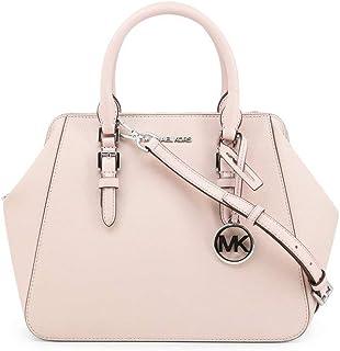 Michael Kors Damen Charlotte Satchel Sling Bag, Pink, Normal