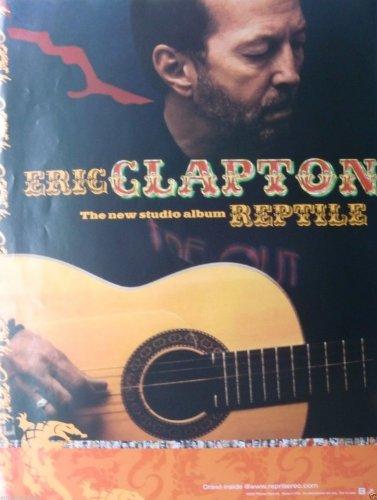 Eric Clapton Reptile Poster Drucken (45,72 x 60,96 cm)