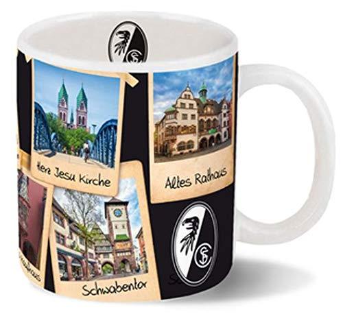 Unbekannt SC Freiburg - Kaffeetasse - 320 ml - Freiburger Sehenswürdigkeiten