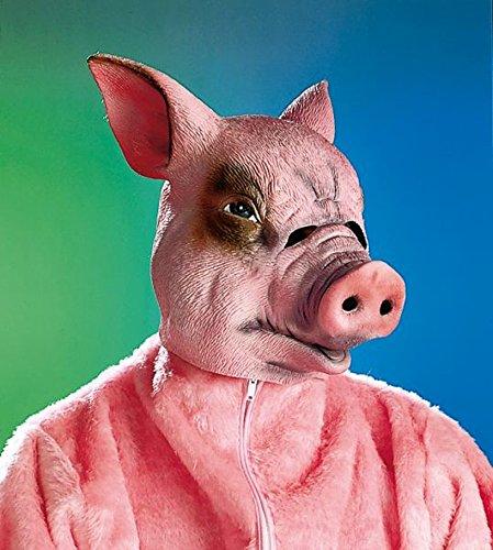 Amakando Schweinemaske Schweinsmaske Schwein Maske Schweine Maske Faschingsmaske Karnevalsmaske Tiermaske Ferkel