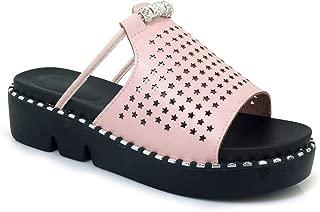 Women's Platform Slide Sandals High Heel Wedge Sandals Ladies Fashion Summer Beach Slipper