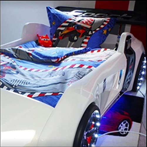 Juego de ropa de cama de franela, 100% algodón, 170 g/m², calidad prémium, lavable a máquina a 60°, apto para secadora (1 funda nórdica de 135 x 200 cm / 1 funda de almohada de 80 x 80 cm)