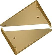 2 stks plankbeugels Heavy Duty verborgen driehoek beugels drijvende wandmontage haakjes verborgen beugel metaal voor plank...