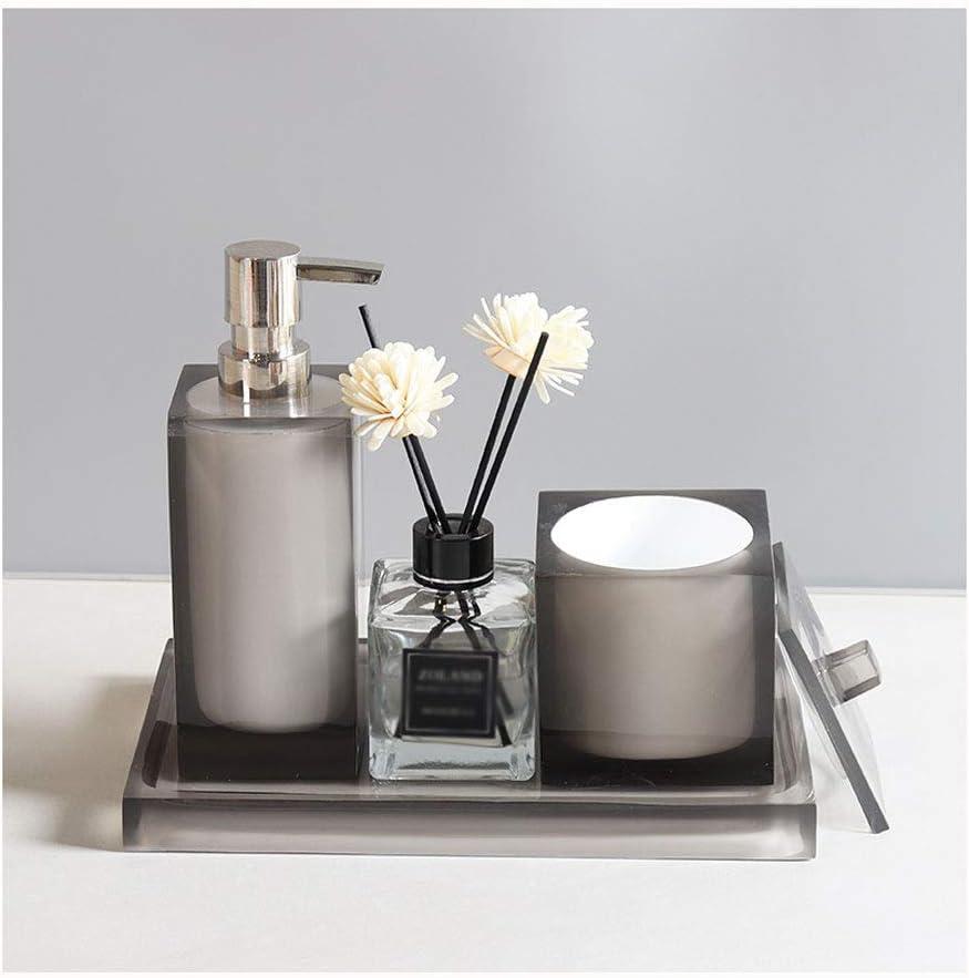 XIAOSAKU Seasonal Wrap Introduction At the price Bathroom Soap Dispenser Saniti Four-Piece Hand
