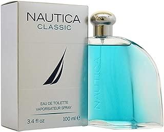 Nâutica Classic for Men By Nâutica Eau de Toilette Spray for man, EDT 3.4 Ounce, 100 ML