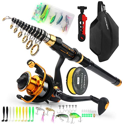 Spinning Fishing Rod and Reel Co...