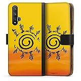 DeinDesign Étui Compatible avec Huawei Honor 20 Étui Folio Étui magnétique Naruto Shippuden...