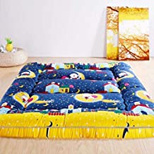 Futon mattressTatami Floor Mat Sleeping,Foldable Japanese Mattress Thickened Bed Mat,Student Dormitory Mattress Sleeping p...