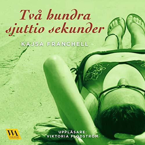 Tvåhundrasjuttio sekunder audiobook cover art
