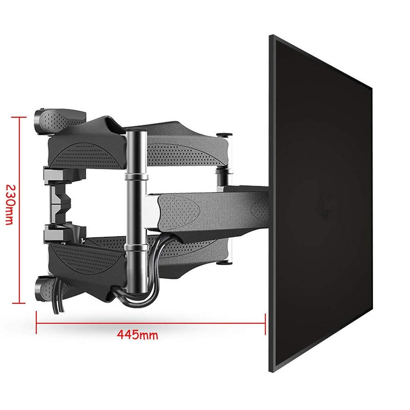 提唱する居住者何故なのウォールマウント咬合6腕テレビウォールマウントフルモーションチルトブラケットTVは32のためのウォールマウントラック「-55」TVSまでのVESA 400X400mmと100Lbsを