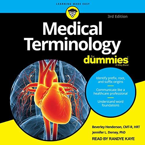 Medical Terminology for Dummies, 3rd Edition Titelbild