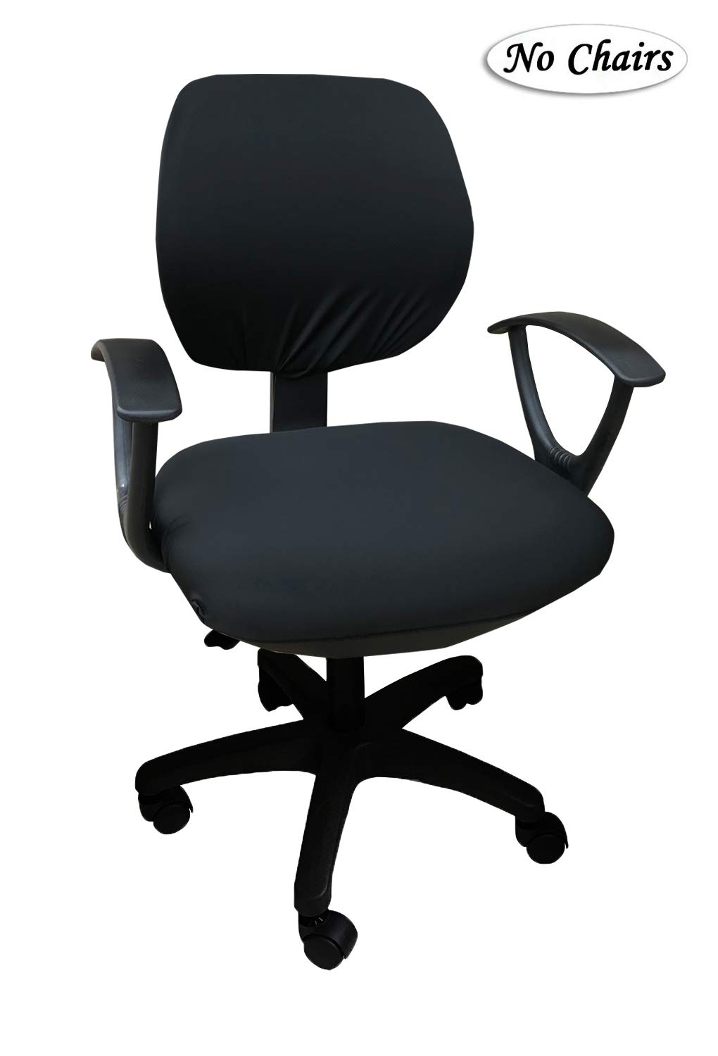 Mocaa Computer Office Chair Covers Universal Stretchable Polyester Washable Rotating Chair Slipcovers Only Chair Covers Color 10 Buy Online In Aruba At Aruba Desertcart Com Productid 145312648