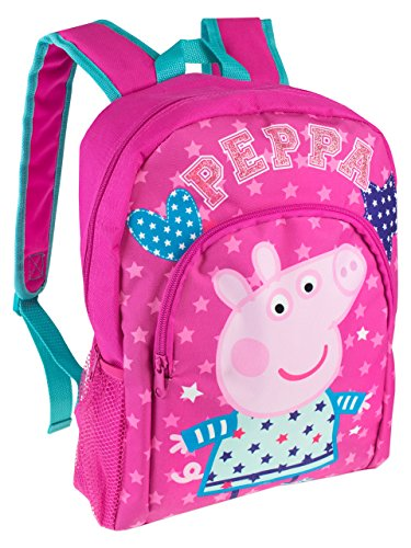 Peppa Pig Girls Peppa Pig Backpack (Pink)