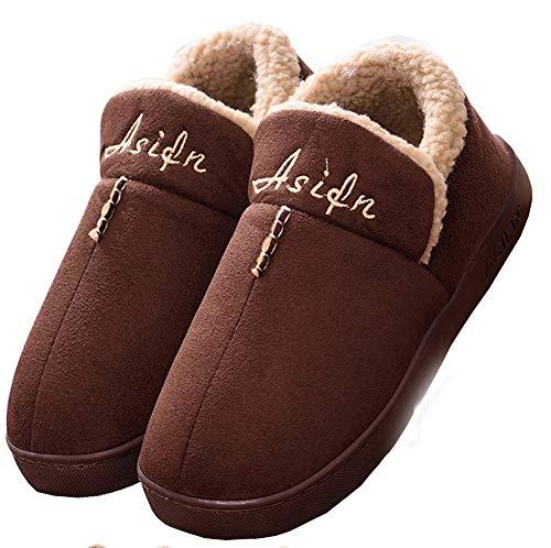 Mujer Invierno Zapatillas de Estar casa Cerradas Calienta Pantuflas Termicas Zapatos...