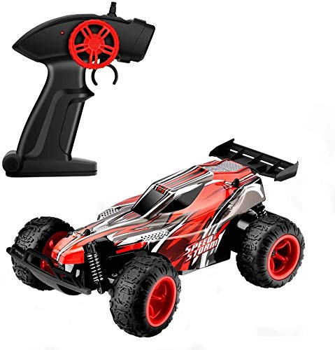 Liiokiy Control remoto Car 2.4GHz 20km / H RC Coche Radio de carreras de alta velocidad Coche controlado con baterías recargables RC Fast Drift Car para niños y adultos Niños Niños Niñas Regalos Regal