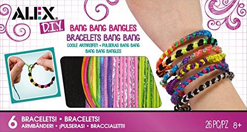 Alex Toys Diy Wear - 132w - Les Bracelets Fluo Et Argents
