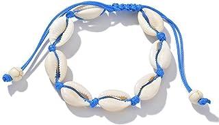 LMRYJQ Bracelet Femme Jumel/é avec des Robes De Soir/éE Bijoux Vintage Shell Naturel Bleu Turquoise Bracelet La Mode Exquis Les Cadeaux De Vacances