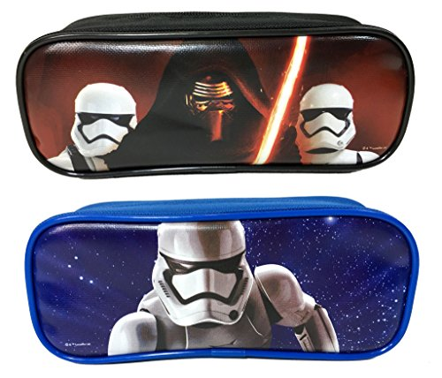 Star Wars Pencil Case/Pouch Cute Design Set of 2