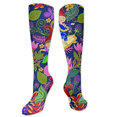 Hawaiianische Gartenzwerge Kissen Crew Socken Workout Training Wandern Sport Socken für Männer und Frauen Trainer Low Cut Socken