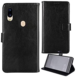 Lankashi Stand Premium Retro Business Flip Leather Silicone TPU Case Protector Bumper For CUBOT Max 2 6.8