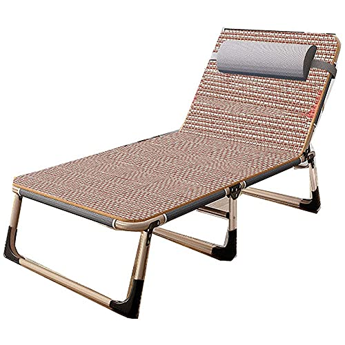 WGFGXQ Zero Gravity Outdoor Chair,Zero Gravity Office Nap Chair Folding Bed, Outdoor Lounge Patio Chairs Beach Chair,Adjustable Folding Recliner Chaise Sofa-3
