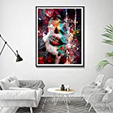 KWzEQ Pintura sin Marco Murales Abstractos Carteles e Impresiones decoración del hogar Pintura de Acuarela Pintura al óleo Moderna Lienzo de arteAY7095 40X50cm