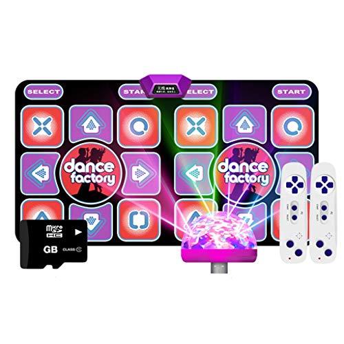 YYF Bonne Isolation Acoustique 11mm sans Fil Blanket Double Danse Interface TV HDMI Dance Machine Accueil somatosensoriel Danse Main Blanket Courir Doux