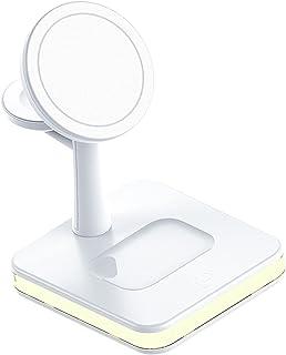 KESOTO Carregador sem fio 15W Suporte para estação de carregamento rápido para fones de ouvido de smartphone Smartwatch - ...