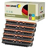 Pack de 5 TONER EXPERTE® Compatibles 130A CF350A CF351A CF352A CF353A Cartuchos de Tóner Láser para HP Colour Laserjet Pro MFP M176N, M177FW