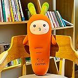 LEIhhdy 50-110cm Grande Conejo Zanahoria Juguete de Felpa Almohada para Dormir Chica Linda muñeca Grande Cama 90cm 4