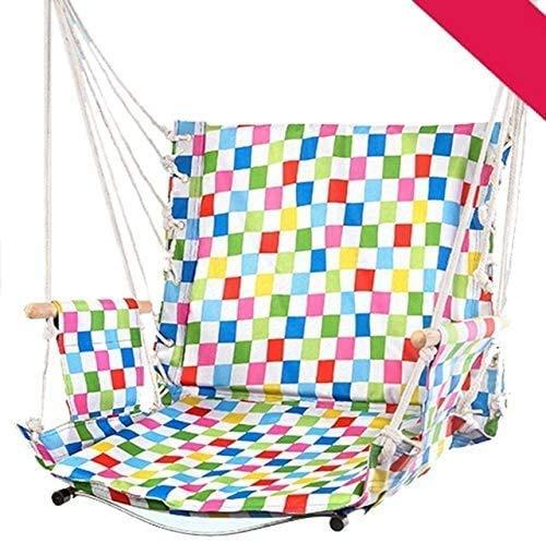 YLDXP Hanging Swing Hammock Chair, Lightweight Portable Indoor Garden Hammock Chair, Outdoor Student Hammock Swings Seat