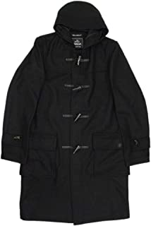 (グローバーオール) GLOVERALL 3681-MM CLOTH ダッフルロングコート 日本別注 01-BLACK GLA001