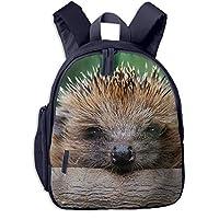 かわいい動物のハリネズミ 迷子防止リュック バックパック 子供用 子ども用バッグ ランドセル 高品質 レッスンバッグ 旅行 おでかけ 学用品 子供の贈り物