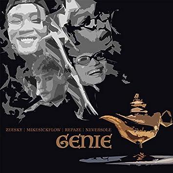 Genie (feat. Repaze, Zeesky, MikeSickFlow, Neversole)