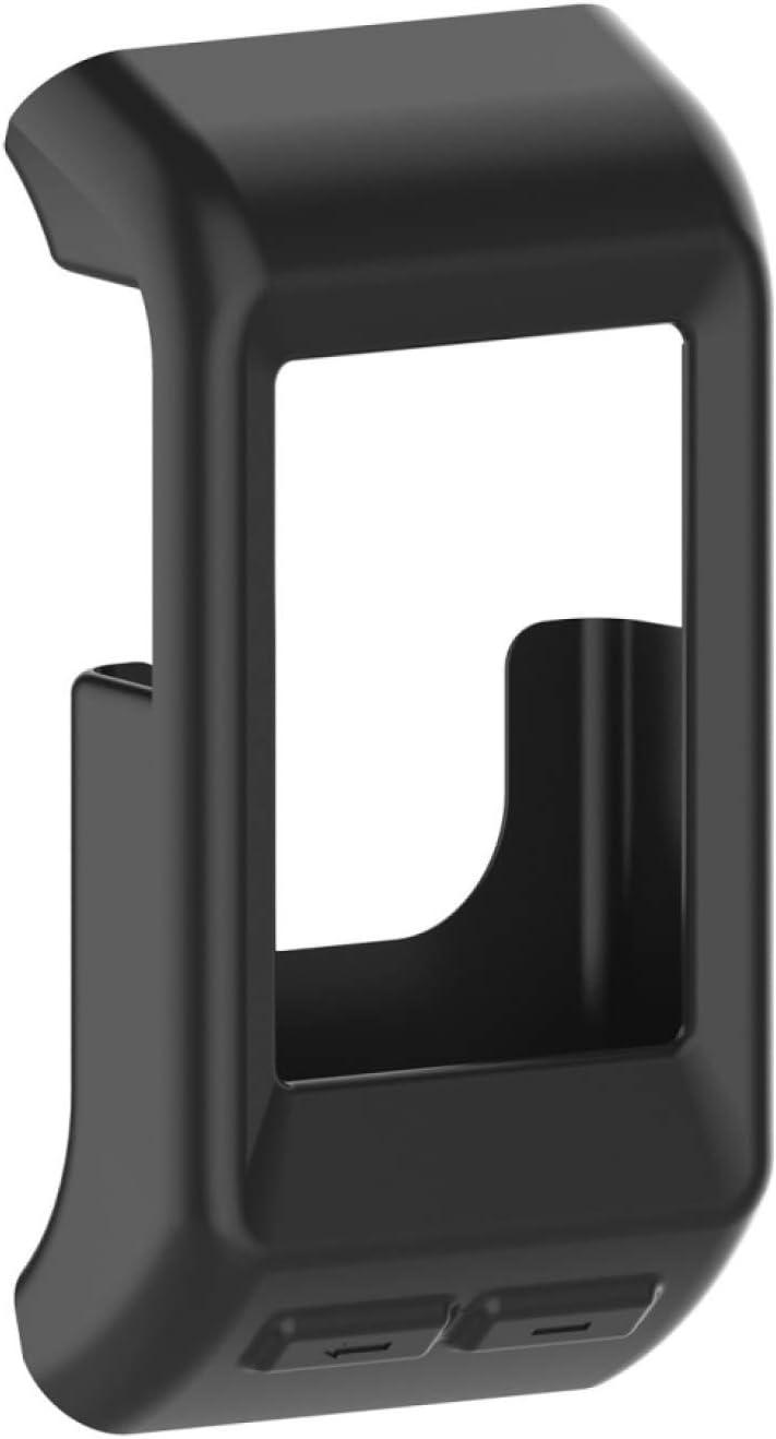 PÍXIDE AYDD para Garmin VIVOACTUS HR Funda Protectora de Silicona (Color : Black)