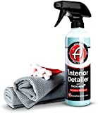 Adam's Microban Interior Detailer (Combo, Original) - Antimicrobial Car Interior Cleaner & Dressing for Car Detailing | Reduces Bacteria Microbes | UV Protection Leather Cleaner & Conditioner