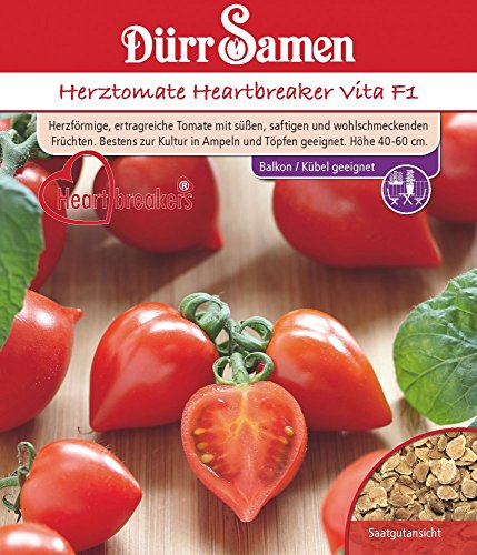 Dürr Samen 4274 Herztomate Heartbreaker Vita F1 (Herztomatensamen)
